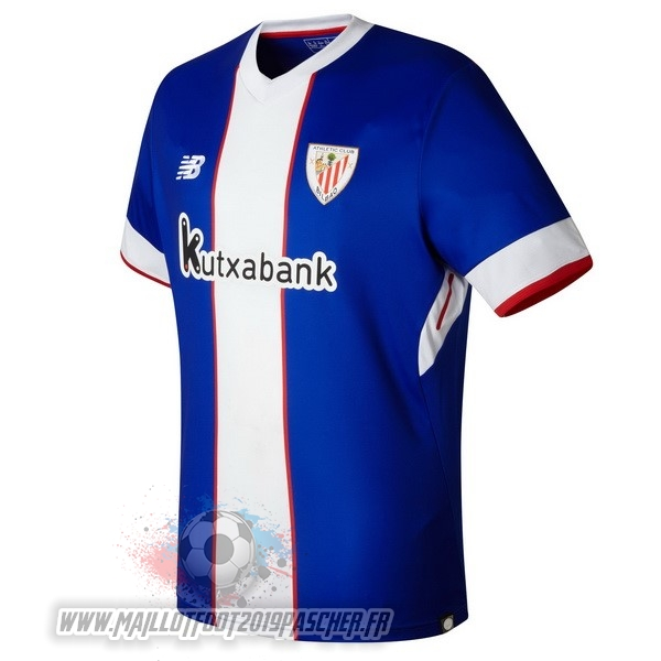 Maillot De Foot Personnalisé New Balance Third Maillots Athletic Bilbao 2017 2018 Bleu