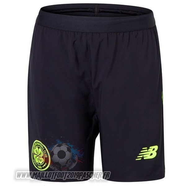 Maillot De Foot Personnalisé New Balance Third Shorts Celtic 2018-2019 Noir