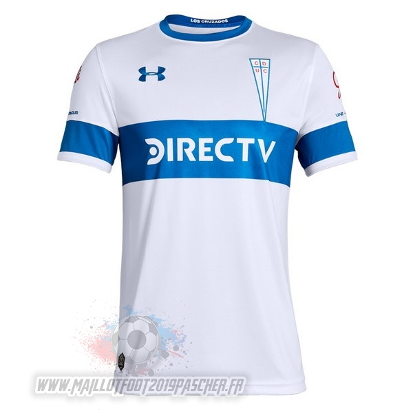 Maillot De Foot Personnalisé Under Armour DomiChili Maillot Cd Universidad Católica 2019 2020 Blanc