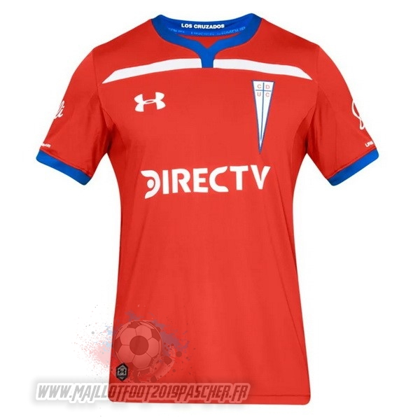 Maillot De Foot Personnalisé Under Armour Exterieur Maillot Cd Universidad Católica 2019 2020 Rouge