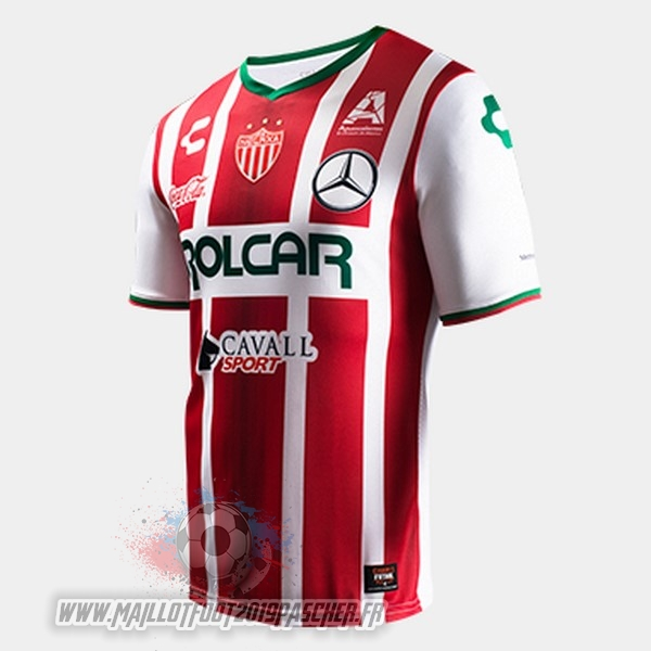 Maillot De Foot Personnalisé Tenis Charly Domicile Maillots Club Necaxa 2017 2018 Rouge