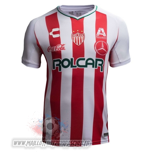 Maillot De Foot Personnalisé Tenis Charly Domicile Maillots Club Necaxa 2018-2019 Rouge