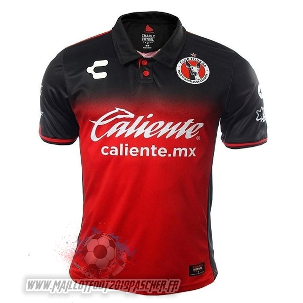 Maillot De Foot Personnalisé Tenis Charly Domicile Maillots Tijuana 2017 2018 Rouge