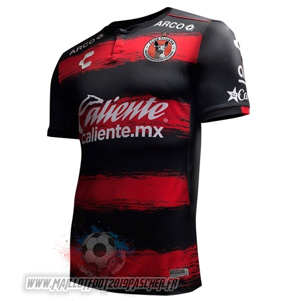 Maillot De Foot Personnalisé Tenis Charly Domicile Maillots Tijuana 2018-2019 Rouge