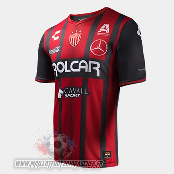 Maillot De Foot Personnalisé Tenis Charly Exterieur Maillots Club Necaxa 2017 2018 Rouge