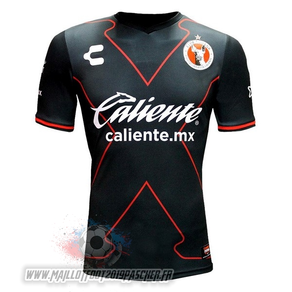 Maillot De Foot Personnalisé Tenis Charly Third Maillots Tijuana 2017 2018 Noir