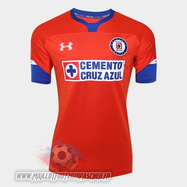 Maillot De Foot Personnalisé Under Armour Third Maillots Cruz Azul 2018-2019 Rouge