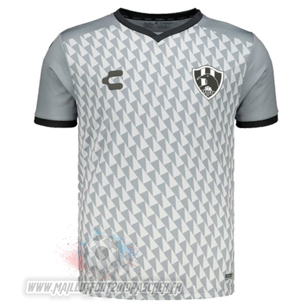Maillot De Foot Personnalisé Tenis Charly Third Maillot Cuervos 2019 2020 Gris