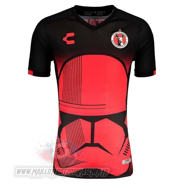 Maillot De Foot Personnalisé Tenis Charly Spécial Maillot Tijuana 2019 2020 Rouge