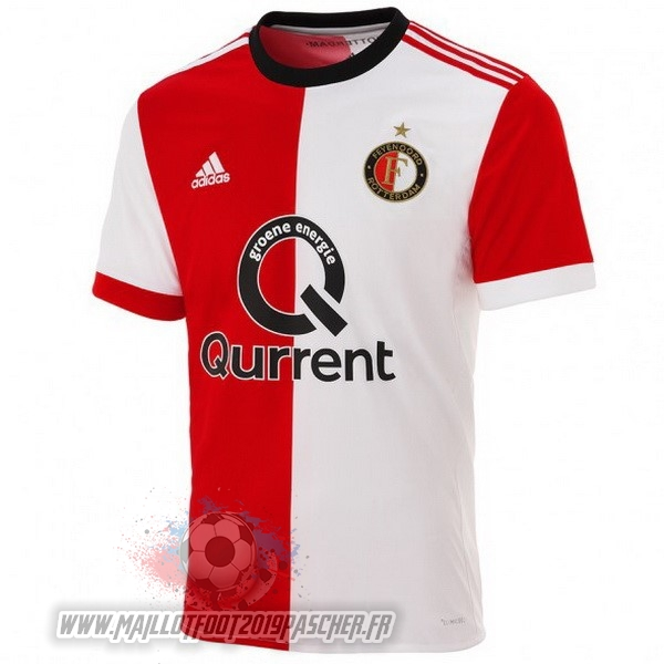 Maillot De Foot Personnalisé adidas Domicile Maillots Feyenoord Rotterdam 2017 2018 Rouge