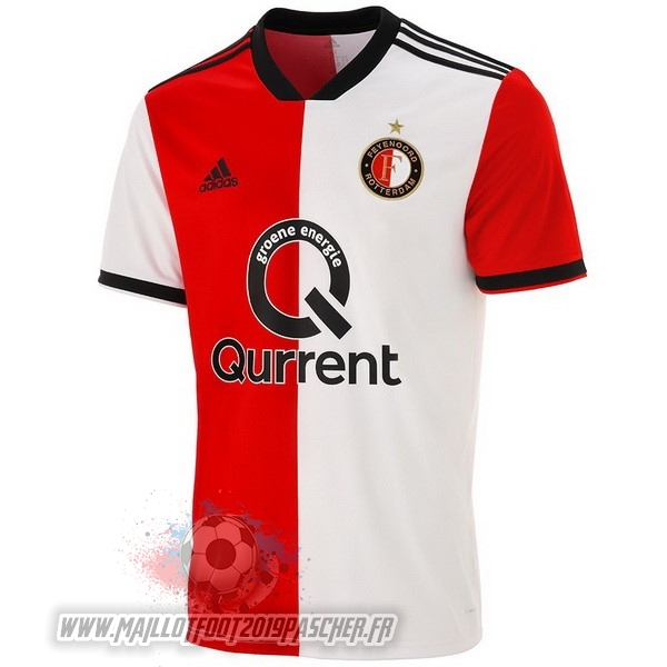 Maillot De Foot Personnalisé adidas Domicile Maillots Feyenoord Rotterdam 2018-2019 Rouge