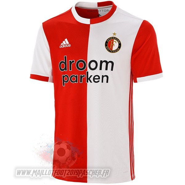 Maillot De Foot Personnalisé adidas Domicile Maillot Feyenoord Rotterdam 2019 2020 Rouge