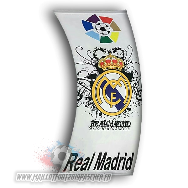 Maillot De Foot Personnalisé Football Drapeau de Real Madrid Blanc