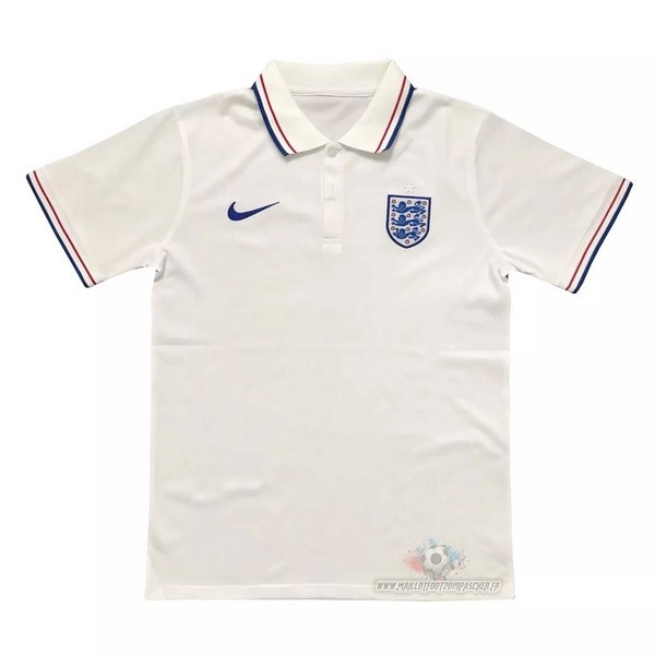 Maillot De Foot Personnalisé Nike Polo Angleterre 2020 Blanc
