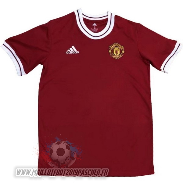 Maillot De Foot Personnalisé adidas Zlatan Ibrahimovic Maillots Manchester United 2018 2019 Rouge