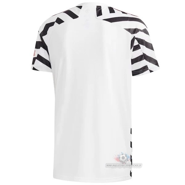 Maillot De Foot Personnalisé adidas Thailande Third Maillot Manchester United 2020 2021 Blanc