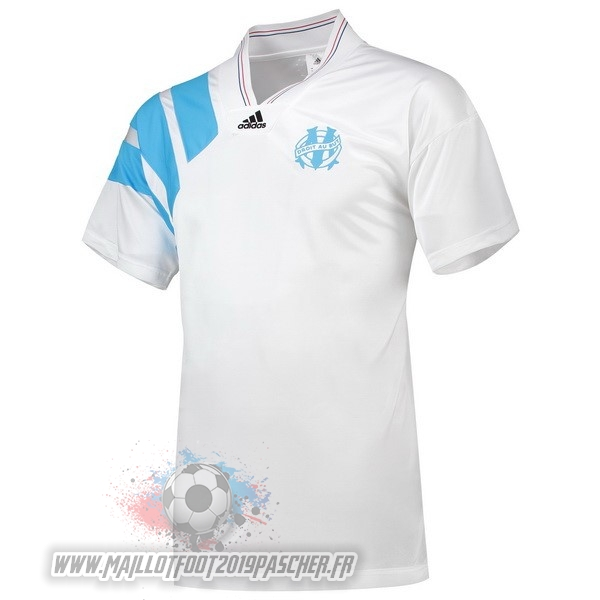 Maillot De Foot Personnalisé adidas 25th Maillots Marseille 1993 Blanc