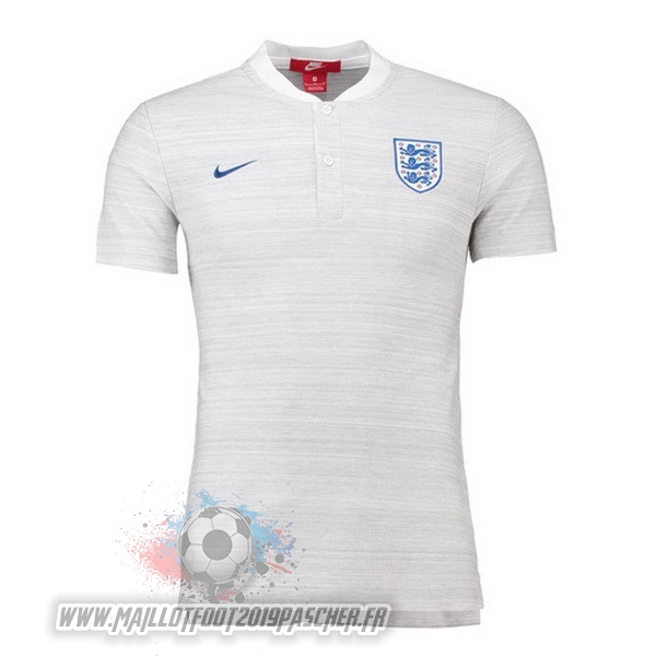 Maillot De Foot Personnalisé Nike Polo Angleterre 2018 Blanc