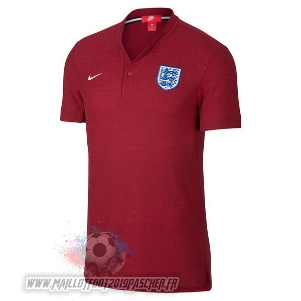 Maillot De Foot Personnalisé Nike Polo Angleterre 2018 Rouge