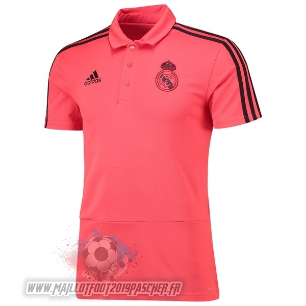 Maillot De Foot Personnalisé adidas Polo Real Madrid 2018-2019 Rose