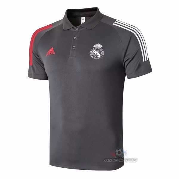 Maillot De Foot Personnalisé adidas Polo Real Madrid 2020 2021 Marron