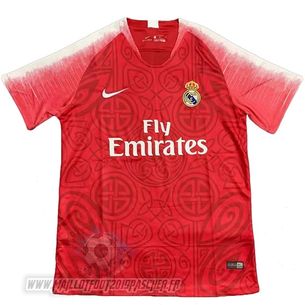 Maillot De Foot Personnalisé Nike Concept Maillot Real Madrid 2019 2020 Rouge